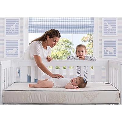 Simmons BeautySleep From Beautyrest Timeless Sunset Crib & Toddler Mattress