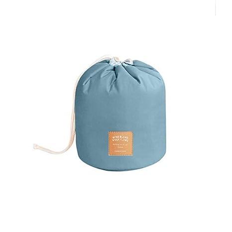 yjydada impermeable poliéster de tocador bolsa de maquillaje bolsa de viaje de las mujeres