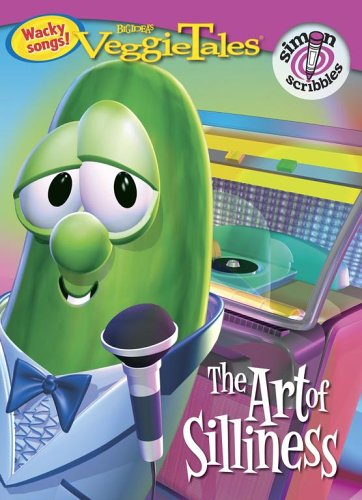 The Art of Silliness (Veggietales, Simon scribbles) Veggietales Coloring Book
