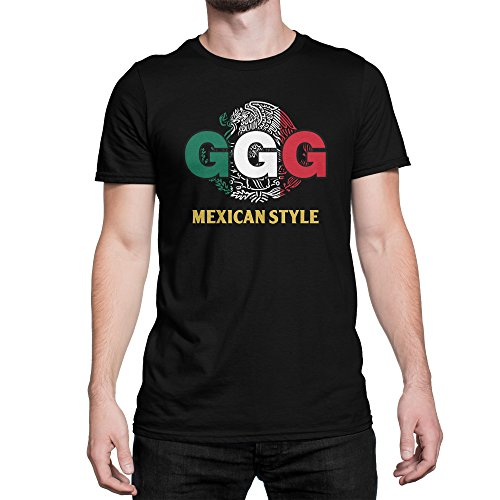 Mexican Style Ggg Gennady Golovkin Boxing T Shirt For Men