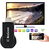 Rumfo Wireless WiFi Display Dongle 1080P HDMI TV Stick Converter Adapter Screen Mirroring Media Player Support DLNA MiraCast AirPlay Google Chromecast