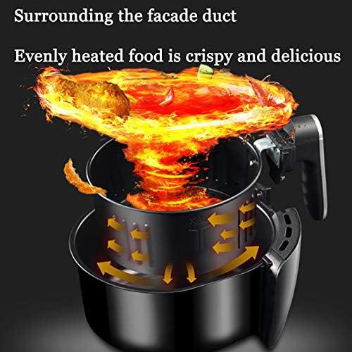 LUONE Air friteuses, minuterie réglable Température de Commande d'air Chaud friteuses santé Faible teneur en Gras Air Fryer Four Multifonction friteuses