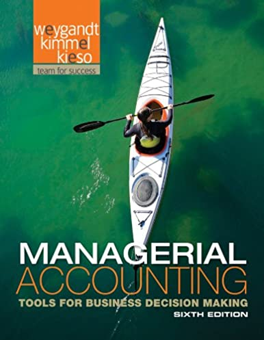 managerial accounting tools for business decision making jerry j rh amazon com Accounting and Finance Managerial Accounting Final Exam Cheat Sheet