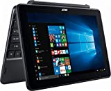 Acer One 10.1 Inch Flagship Edition Tablet Laptop with Keyboard Intel Atom Quad-core Processor 2G RAM 32G Storage Windows 10 bundle with woov sleeve