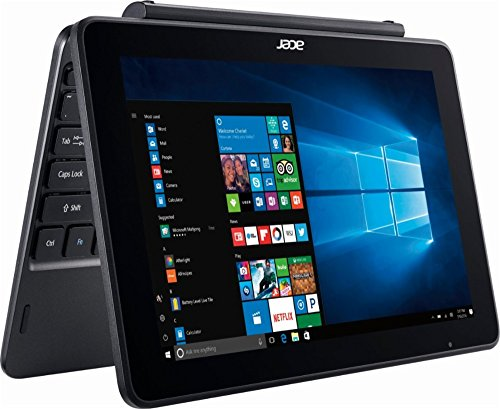 Acer One 10.1 Inch Flagship Edition Tablet Laptop with Keyboard Intel Atom Quad-core Processor 2G RAM 32G Storage Windows 10 bundle with woov sleeve by Acer