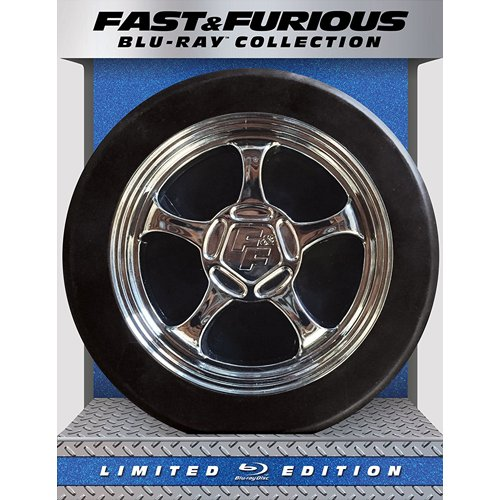 Fast & Furious 1-6 Collection - Limited Edition (Blu-ray) [Collectible Tire Packaging]