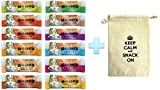 Bobo's Oat Bars All Natural, Gluten Free, All 12 Flavors Variety, 3 oz Bars, Pack of 12 (1 Each 12 Flavors)