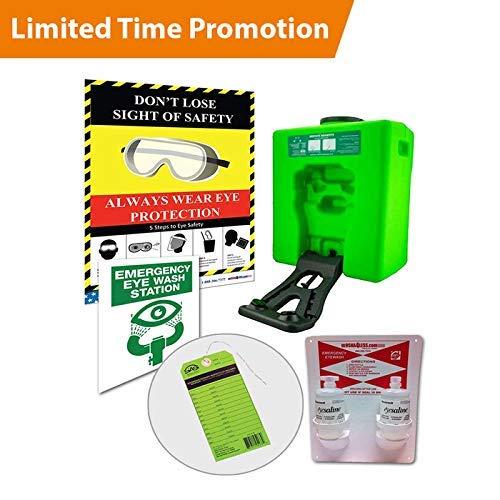 (Emergency Eyewash Station OSHA Portable - Bundle)