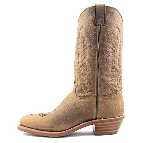 Abilene Womens Boot Distressed Western Square Toe - 9076 Brown Bllxg