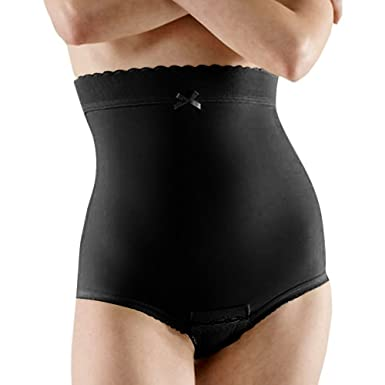 9819ed3749f86 Marena Second Stage Support Girdle with No Legs by Comfortwear LGA2 4XL  Black
