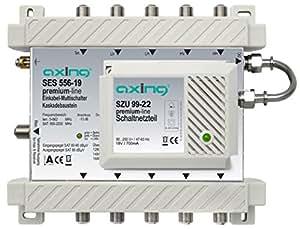 Axing SES 556-19 - Conmutador múltiple Unicable con retorno pasivo (importado)