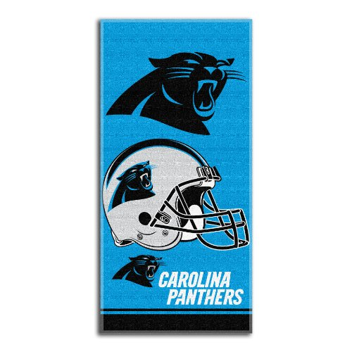 - NFL Carolina Panthers Double Covered Beach Towel, 28 x 58-Inch