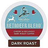 Caribou Coffee Reindeer Blend, Single Serve Coffee K Cup Pod, Dark Roast, 60Count, Reindeer Blend, 60Count: more info