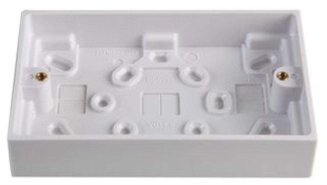 Volex 2G 29MM Surface Box GB6:VX9414