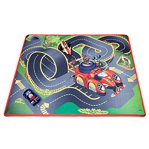 Playmat Set (Disney Mickey and the Roadster Racers Playmat & Vehicles Play Set)