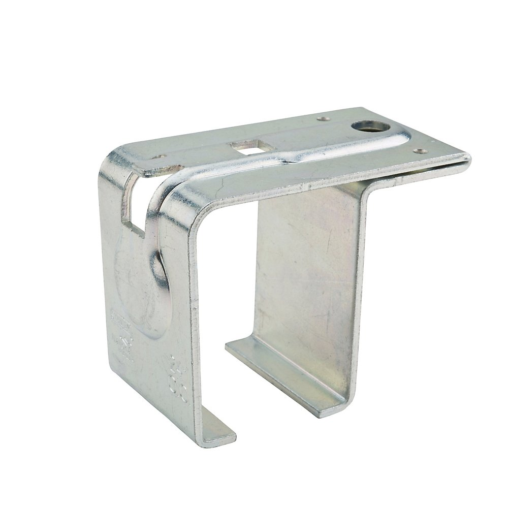 National Steel Top Mount Single Box Rail Bracket Offset With Lag Bolt (Offset Mounting Bracket)