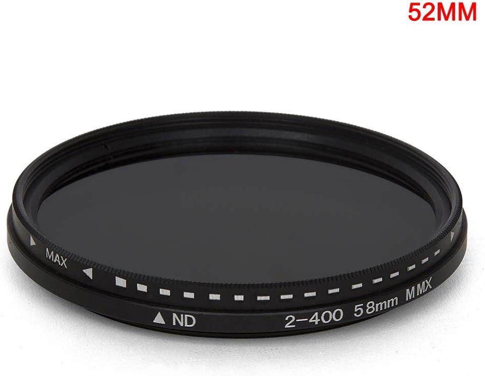 lzndeal Filtre ND Variable Fader ND2 /à ND400 r/églable en densit/é Neutre pour Objectif dappareil Photo