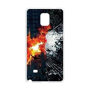 Samsung Galaxy Note 4 Cell Phone Case White_Batman Dark Knight Trilogy TR2464010