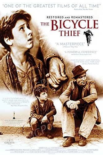 MCPosters The Bicycle Thief GLOSSY FINISH Movie Poster - MCP469 (16