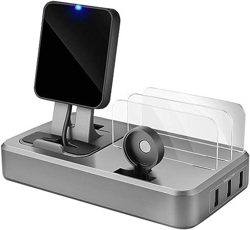 QI Wireless Caricabatterie Dock Stazione di Ricarica Airpod