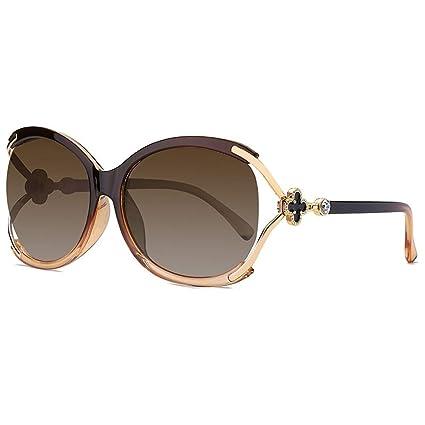 Gafas Gafas de Sol polarizadas Big Frame Brand Lady ...