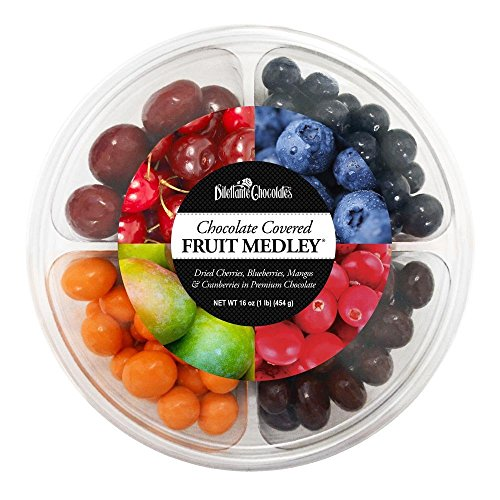 Dilettante Chocolate Fruit Medley® Wheel - 16 Oz Party Assortment