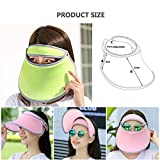 Outdoor Sunblock Visor, Womens Girls Sports Gear UV Protection Fashion Sunproof Cap/UPF 50+ Identified
