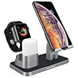 BENTOBEN Compatible with Apple Watch Stand Airpods