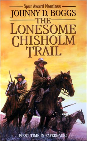 book cover of The Lonesome Chisholm Trail