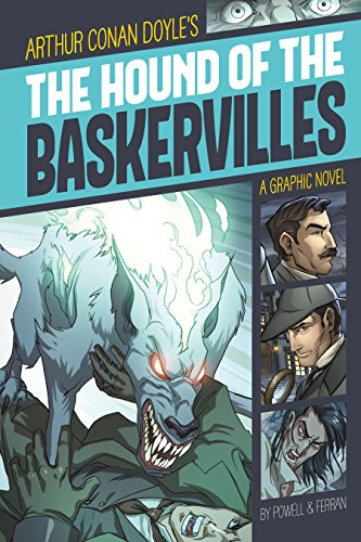 The Hound of the Baskervilles (Graphic Revolve: Common Core Editions) (Arthur Conan Doyle The Hound Of The Baskervilles)