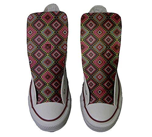 Schuhe Customized Texture personalisierte African Handwerk Star Schuhe Hi Converse All qxavXX