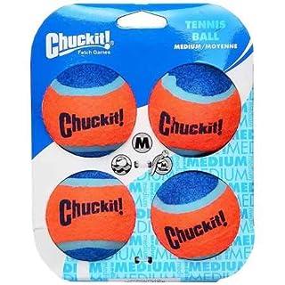 Chuckit Tennis Balls Medium (4 Pack)