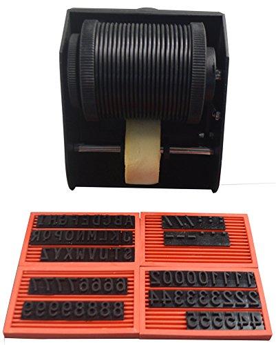 Máquina de codificación manual para impresora, caja de madera ...