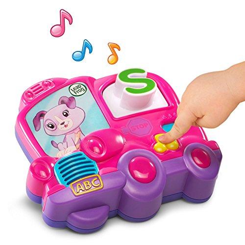 LeapFrog Fridge Phonics Magnetic Letter Set, Pink