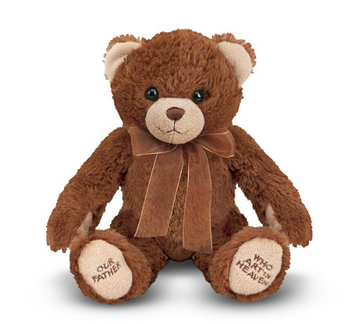 (Melissa & Doug Lord's Prayer Bear - Stuffed Animal With Sound Effects)