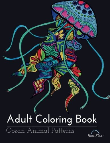Adult Coloring Books about the Ocean