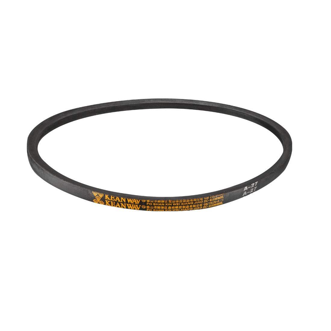 uxcell A-25 Drive V-Belt Girth 25-inch Industrial Power Rubber Transmission Belt