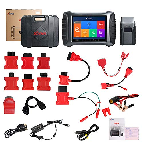 XTOOL A80 Car Diagnostic Tool with Bluetooth/WiFi Full System Car Repair Tool Vehicle Programming/Odometer Adjustment ()