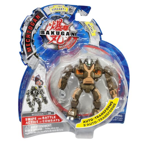 Bakugan Miserak (Colors and Styles May Vary)