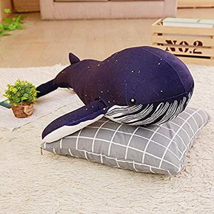 EXTOY - Peluche de ballena suave con manta de algodón de ...