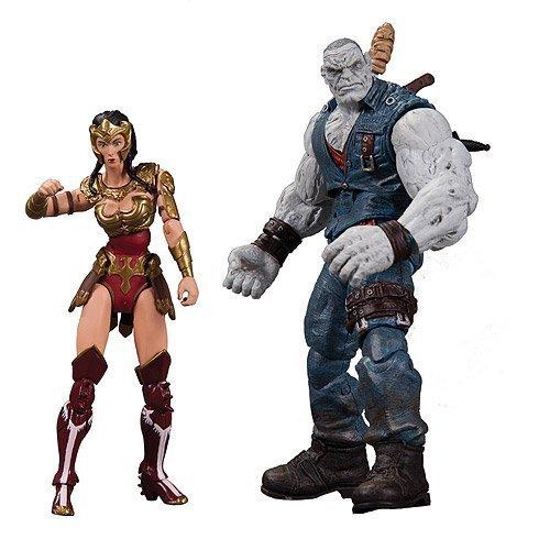 Injustice Wonder Woman vs. Solomon Grundy Action