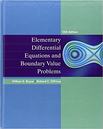 Elementary Differential Equations and Boundary Value Problems 9780470458310 Engineering at amazon