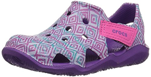 Pictures of Crocs Kids' Swiftwater Wave Graphic Sandal * 1