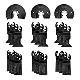 rockwell oscillating tool blades - WORKPRO 23-piece Oscillating Saw Blades Set for Quick Release Multitool, Metal/Wood Blades for Dewalt, Craftsman, Ridgid, Milwaukee, Rockwell, Ryobi and More