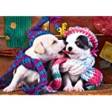 Buffalo Games Best Friends Large Jigsaw Puzzle from the Adorable Animals Collection (300 Piece)
