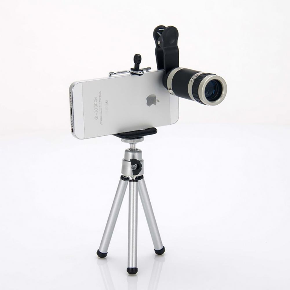 DFGHGXCNBX Binoculars telescope 8  18 HD multiple Panorama easy to use Connect the phone, camera and so on