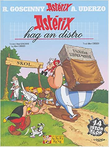 Amazon Fr Asterix Hag An Distro Albert Uderzo Rene