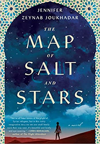 Book Cover: The Map of Salt and Stars by Zeyn Joukhadar