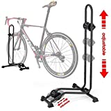 Image of Bikehand Bike Bicycle Floor Parking Rack Storage Stand