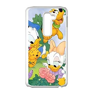 LG G2 Cell Phone Case White Disney Mickey Mouse Minnie Mouse AFT836208